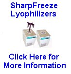 SharpFreeze Lyophilizers